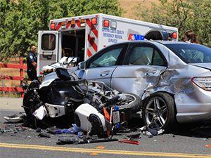 Risarcimento Danni incidente in moto