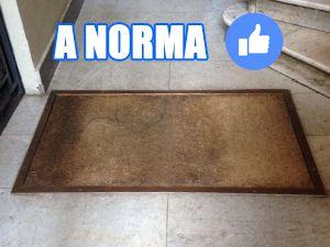 Tappeto a Norma insidia condominiale risarcimento danni